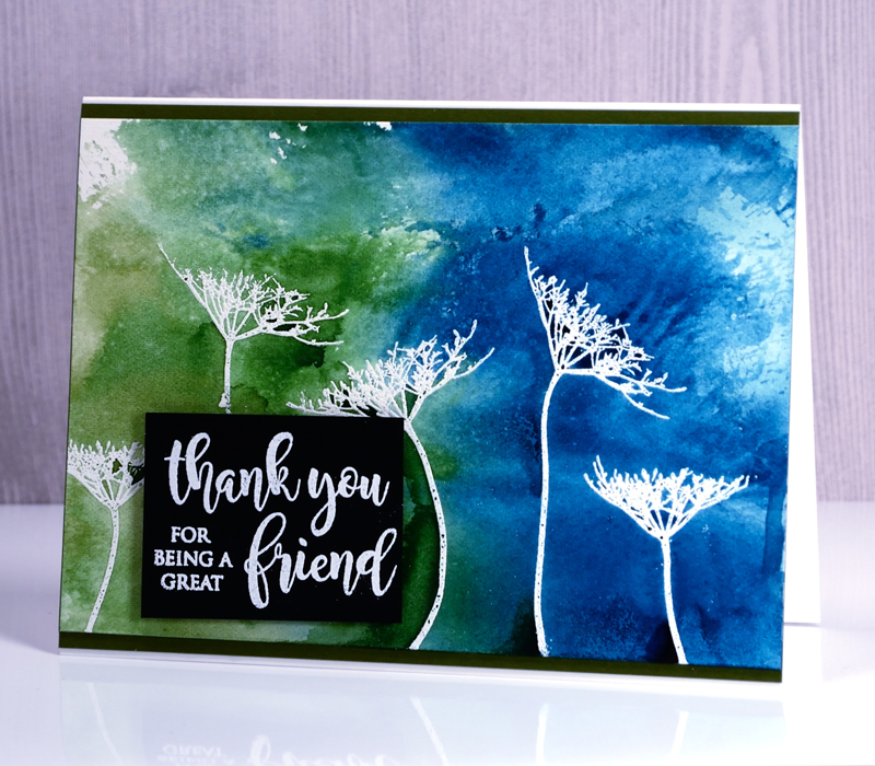 Queen Anne Flowers by The Foiled Fox & Heather Telford