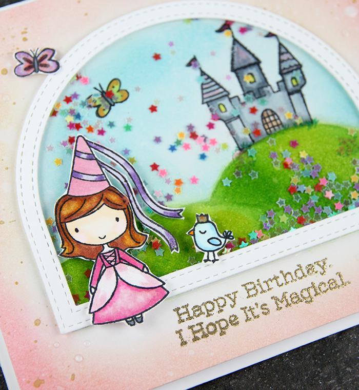 Fairy Princess card by The Foiled Fox - #3