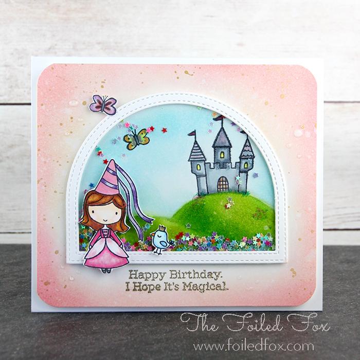 Fairy Princess card by The Foiled Fox