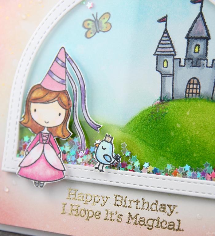 Fairy Princess card by The Foiled Fox - #7