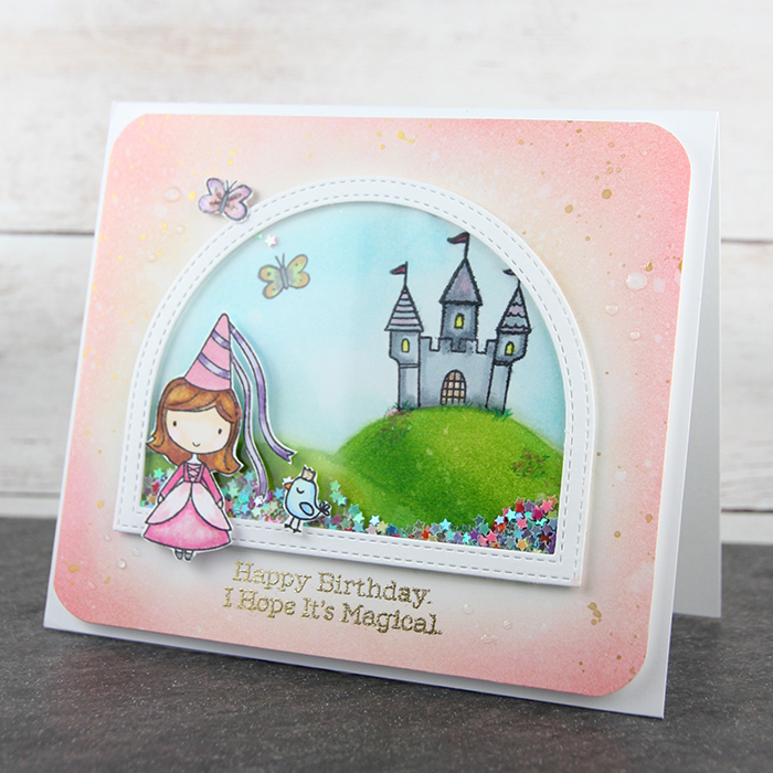 Fairy Princess card by The Foiled Fox #8