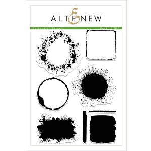 Altenew Watercolor Frames Stamp Set