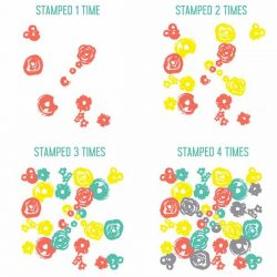 Concord & 9th Flower Turnabout Stamp Set
