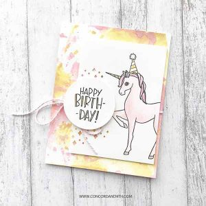 Concord & 9th Unicorn Awesomeness Stamp Set class=