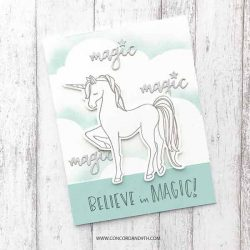 Concord & 9th Unicorn Awesomeness Stamp Set