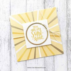 Concord & 9th Sunshine Turnabout Stamp Set