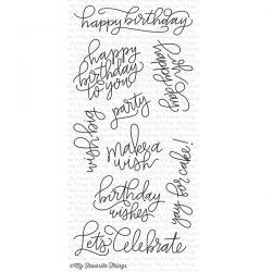 My Favorite Things Handwritten Happiness Stamp Set