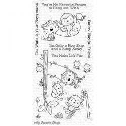 My Favorite Things Jungle Gym Stamp Set