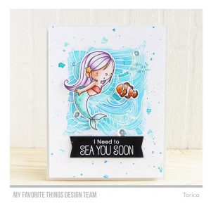 My Favorite Things BB Mermazing Stamp Set class=
