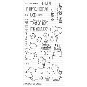 My Favorite Things BB Happy Hippos Stamp Set