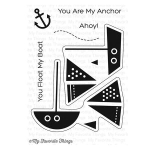 My Favorite Things You Float My Boat Stamp Set