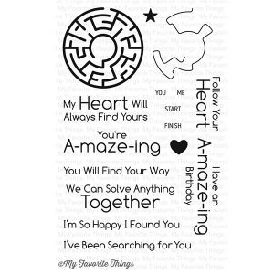 My Favorite Things You're A-mazing Stamp Set