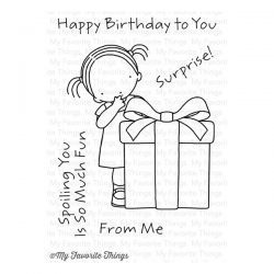 My Favorite Things Pure Innocence Happy Birthday to You Stamp Set