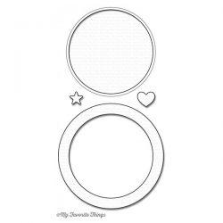 My Favorite Things LLD Circle Shaker Window & Frame Die-Namics