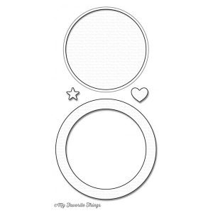 My Favorite Things LLD Circle Shaker Window & Frame Die-Namics