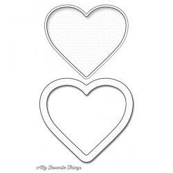 My Favorite Things Die-namics Heart Shaker Window & Frame