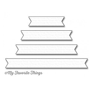 My Favorite Things Essential Fishtail Sentiment Strips Die-namics