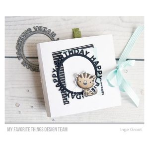 My Favorite Things Happy Birthday Circle Frame Die-namics class=