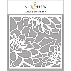 Altenew Layered Dahlia Stencil - A
