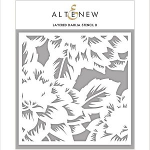 Altenew Layered Dahlia Stencil – B