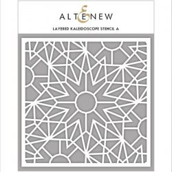 Altenew Layered Kaleidoscope Stencil - A