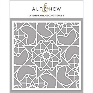 Altenew Layered Kaleidoscope Stencil - B