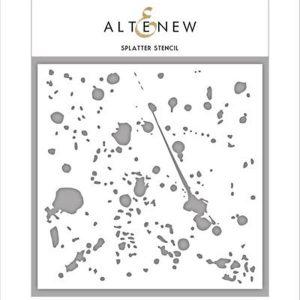 Altenew Splatter Stencil