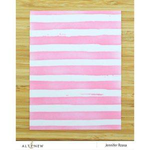 Altenew Watercolor Stripes Stencil class=
