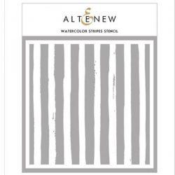 Altenew Watercolor Stripes Stencil