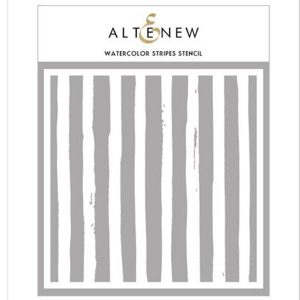 Altenew Watercolor Stripes Stencil