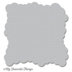 My Favorite Things Mini Cloud Edges Stencil