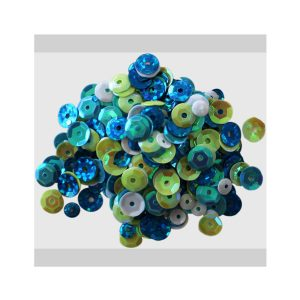 Clear Scraps Sequin Mix - Ocean