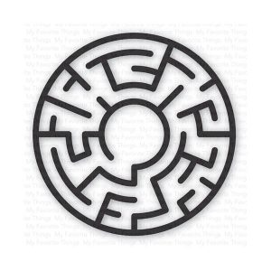 My Favorite Things Maze Shapes - Black