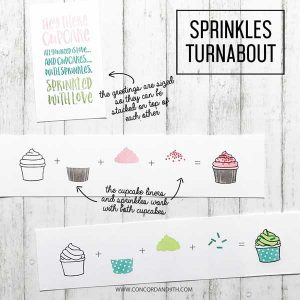 Concord & 9th Sprinkles Turnabout Stamp Set class=