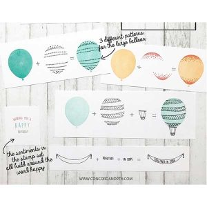 Concord & 9th Happy Balloons Stamp Set class=