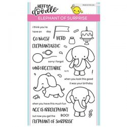 Heffy Doodle Elephant of Surprise Stamp Set