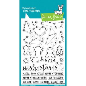 Lawn Fawn Upon A Star Stamp Set