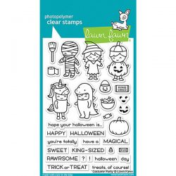 Lawn Fawn Costume Party Stamp Set