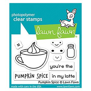 Lawn Fawn Pumpkin Spice Stamp Set