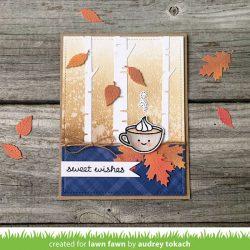 Lawn Fawn Pumpkin Spice Stamp Set