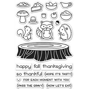 Lawn Fawn Forest Feast Stamp Set class=