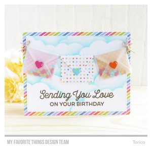 My Favorite Things Big Birthday Wishes Stamp Set class=