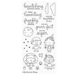 My Favorite Things Happy Haunting Stamp Set
