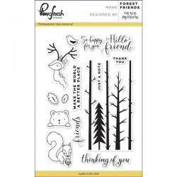 Pinkfresh Forest Friends Stamp Set