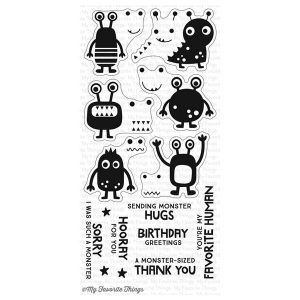 My Favorite Things More Monsters Stamp Set