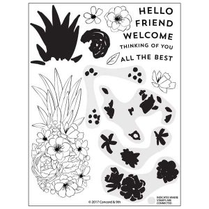Concord & 9th Pineapple Perfection Stamp Set