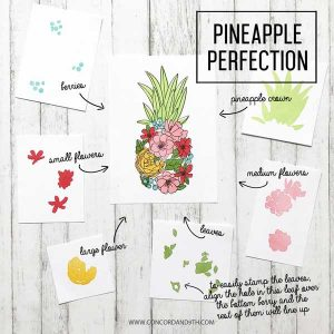 Concord & 9th Pineapple Perfection Stamp Set class=