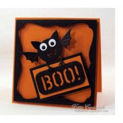 Impression Obsession Bat With Sign Die