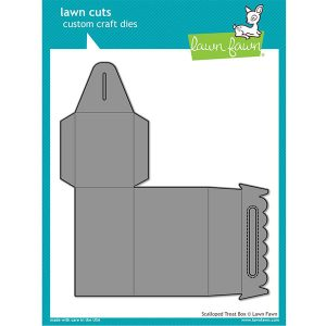 Lawn Fawn Scalloped Treat Box Lawn Cuts