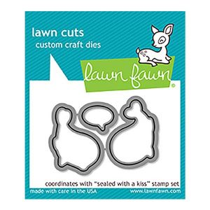 Lawn Fawn Sealed With a Kiss Lawn Cuts